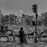Dystopian art by Alex Andreev