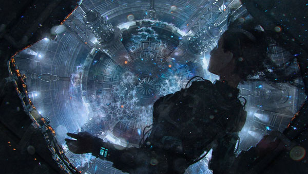 """The Expanse - Julie in reactor room"" by Tim Warnock"